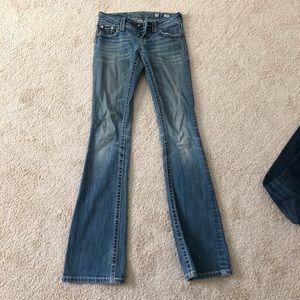 Size 25 Miss Me jeans
